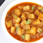 potato curry (aloo curry) , how to make potato curry