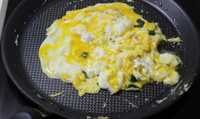 scrambling egg bhurji sandwich recipe