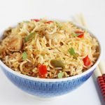 chicken fried rice recipe, how to make chicken fried rice | fried rice recipe