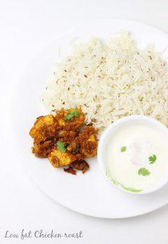 Chicken roast   Chicken dry recipe   South Indian chicken recipes