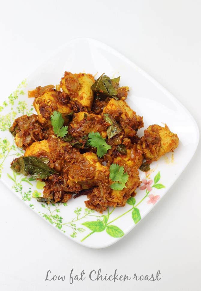 low fat chicken roast recipe-chicken dry