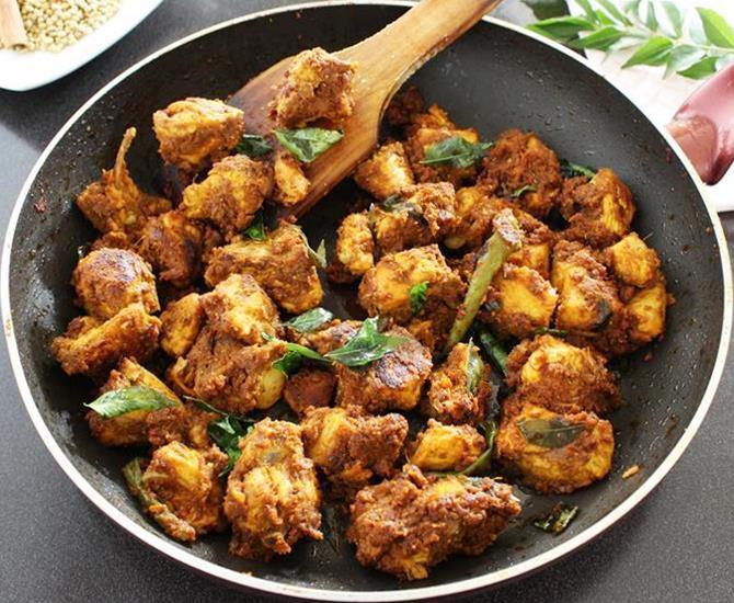 chicken roast recipe andhra style chicken fry
