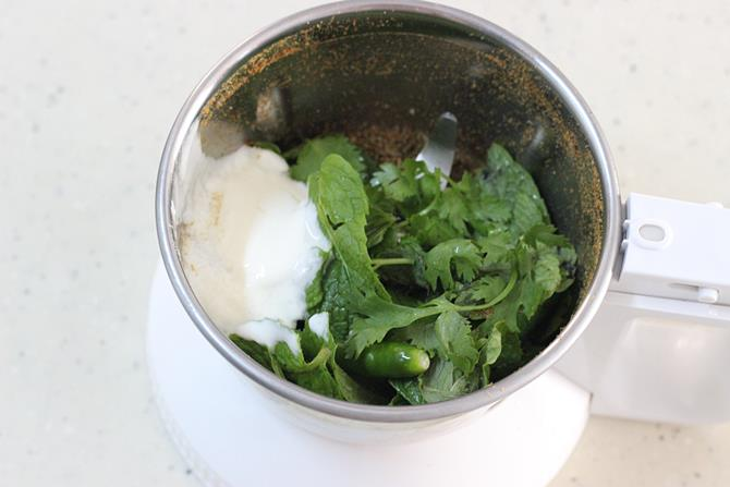 yogurt for mint raita recipe