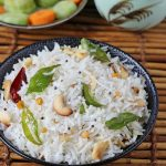 Coconut rice recipe | South Indian coconut rice recipe | Tengai sadam