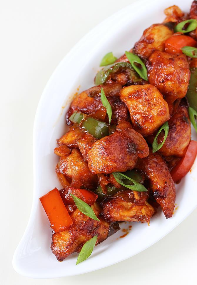 schezwan chicken szechuan chicken recipe