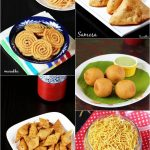 Diwali snacks recipes | Diwali recipes | Veg snacks for diwali 2016