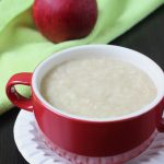 apple oats porridge for babies | oats baby food recipes