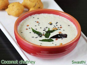 Coconut Chutney Recipe | 7 coconut chutney varieties for idli,dosa, pongal