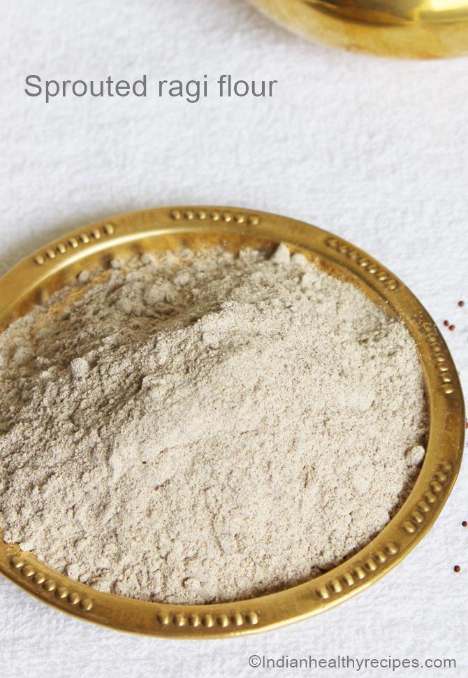 ragi flour or ragi powder for babies porridge