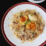 Egg biryani recipe | Hyderabadi egg dum biryani | anda biryani