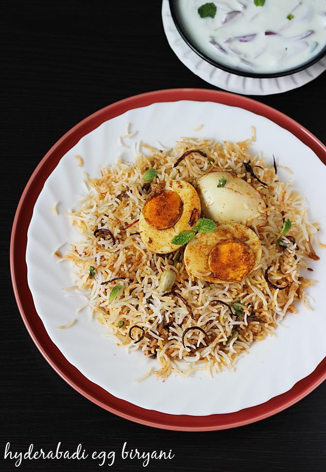 egg biryani recipe swasthis recipes