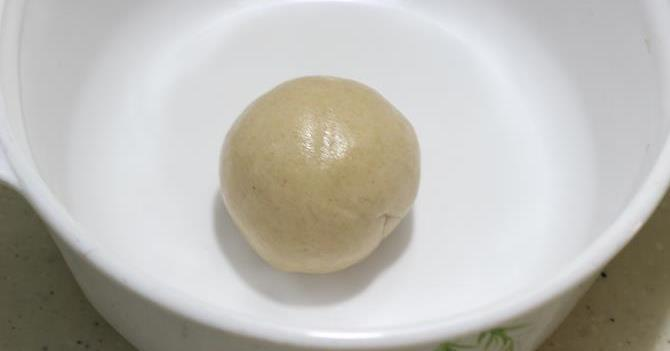 resting dough for anda paratha recipe