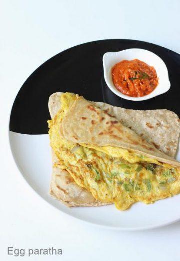 Egg paratha recipe | Anda paratha recipe | How to make egg paratha