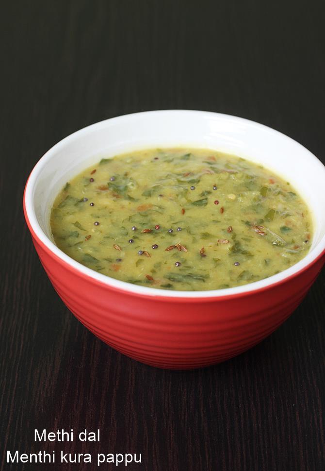 menthi kura pappu swasthis recipes