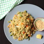 quinoa upma recipe, how to make vegetable quinoa upma