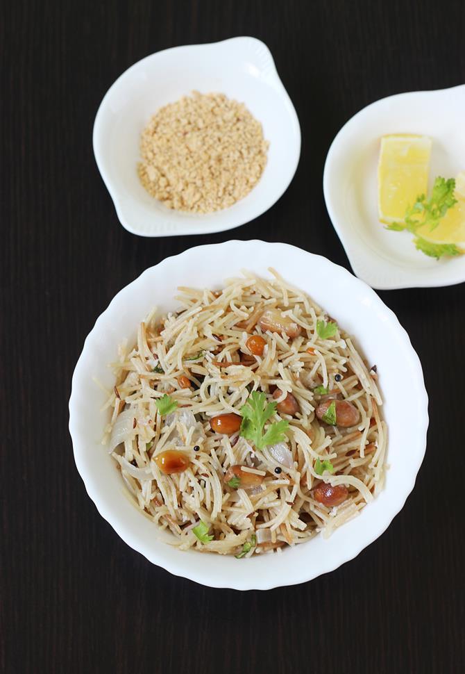 semiya upma swasthis recipes