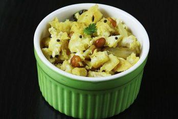 Raw banana curry recipe | aratikaya kura | plantain curry