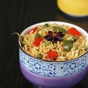 Capsicum rice recipe | Capsicum pulao recipe | rice recipes