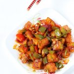 chilli paneer recipe | how to make chilli paneer dry & gravy