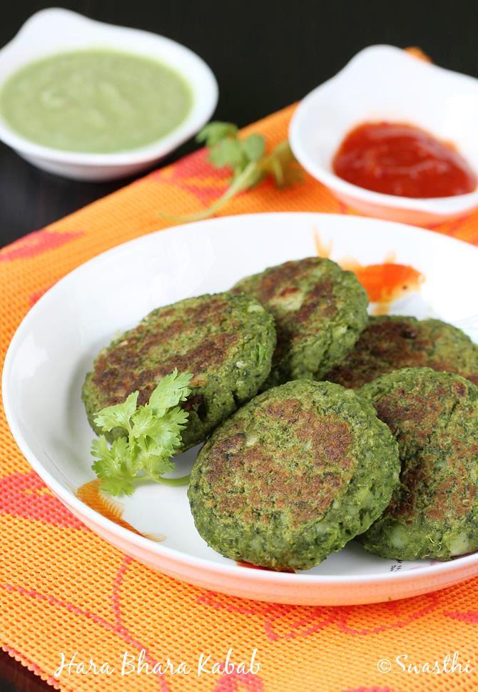 swasthis hara bhara kabab recipe