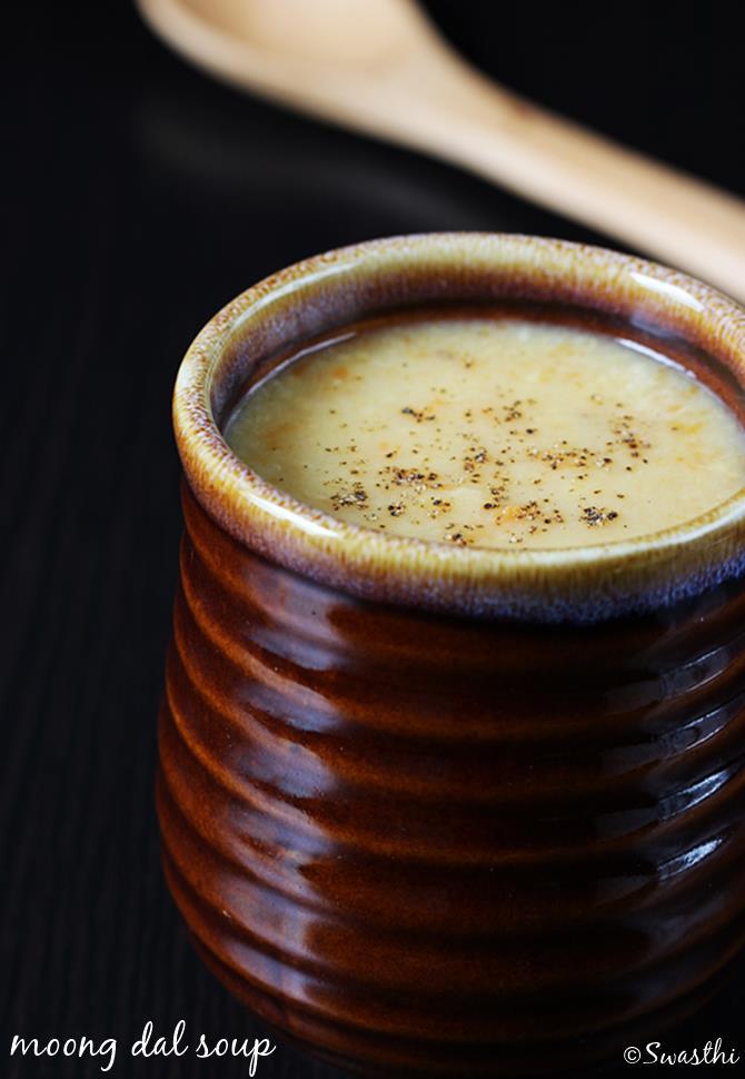 Moong dal soup recipe dal soup recipe nourishing soup moon dal soup recipe forumfinder Image collections