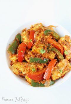 Paneer jalfrezi recipe   How to make paneer veg jalfrezi