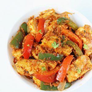 Paneer jalfrezi recipe | How to make paneer veg jalfrezi