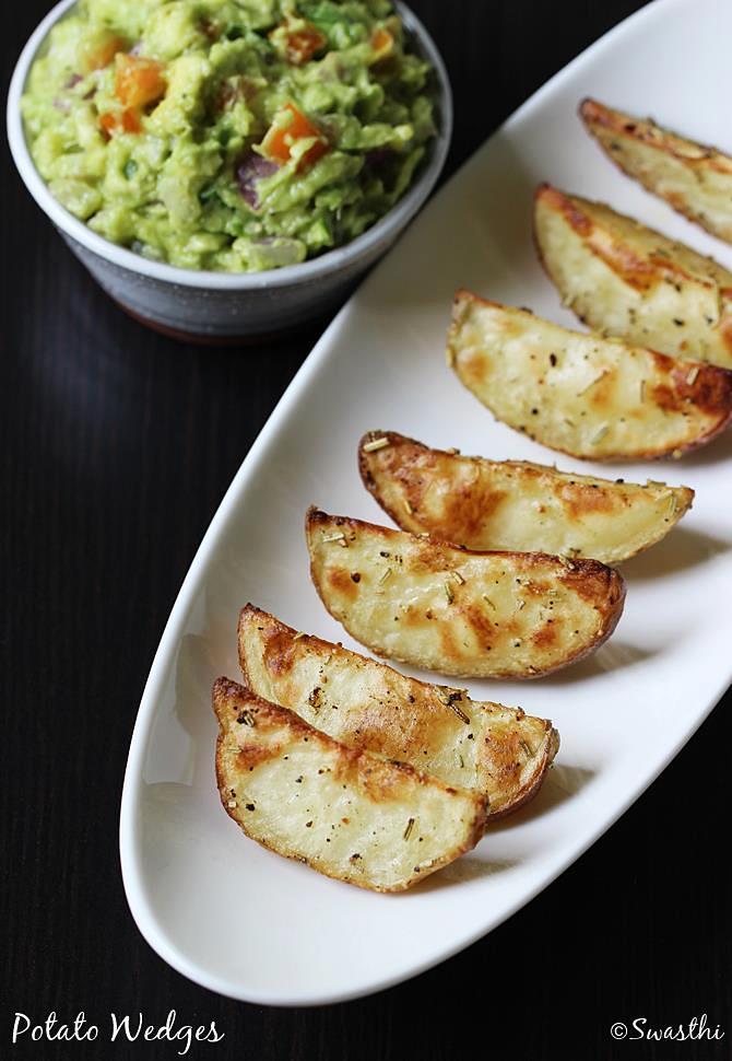 potato wedges swasthis recipes