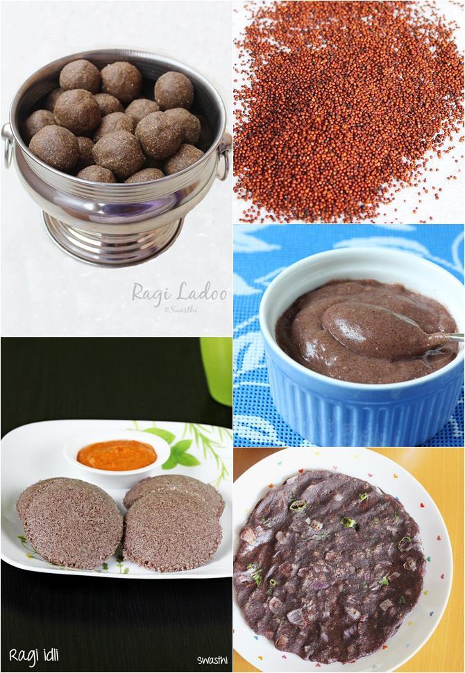 how to use ragi flour