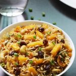 Pineapple fried rice recipe | Vegetarian thai pineapple fried rice recipe
