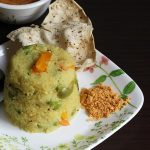 brown rice upma recipe, how to make brown rice upma