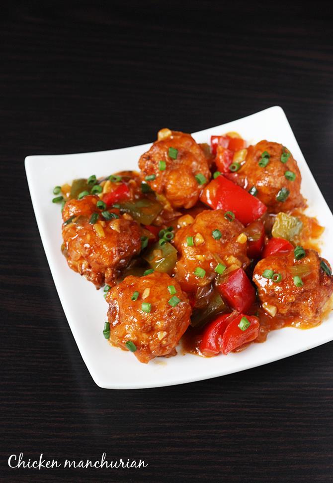Chicken manchurian recipe how to make chicken manchurian recipe indo chinese food chicken manchurian forumfinder Image collections