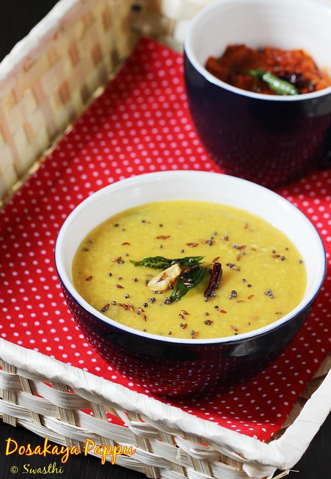 dosakaya pappu recipe swasthis recipes
