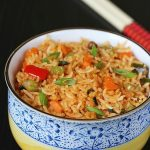 schezwan fried rice recipe, how to make schezwan fried rice