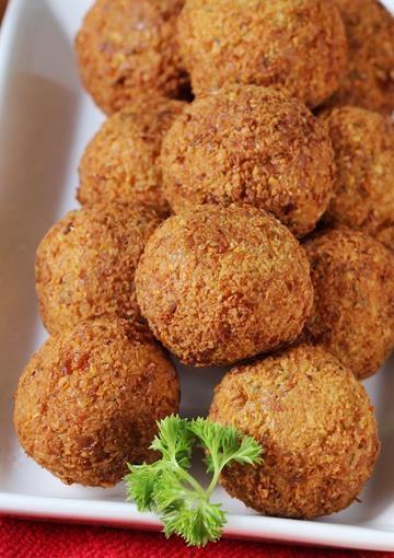 Falafel recipe   How to make falafel recipe   Chickpea falafel