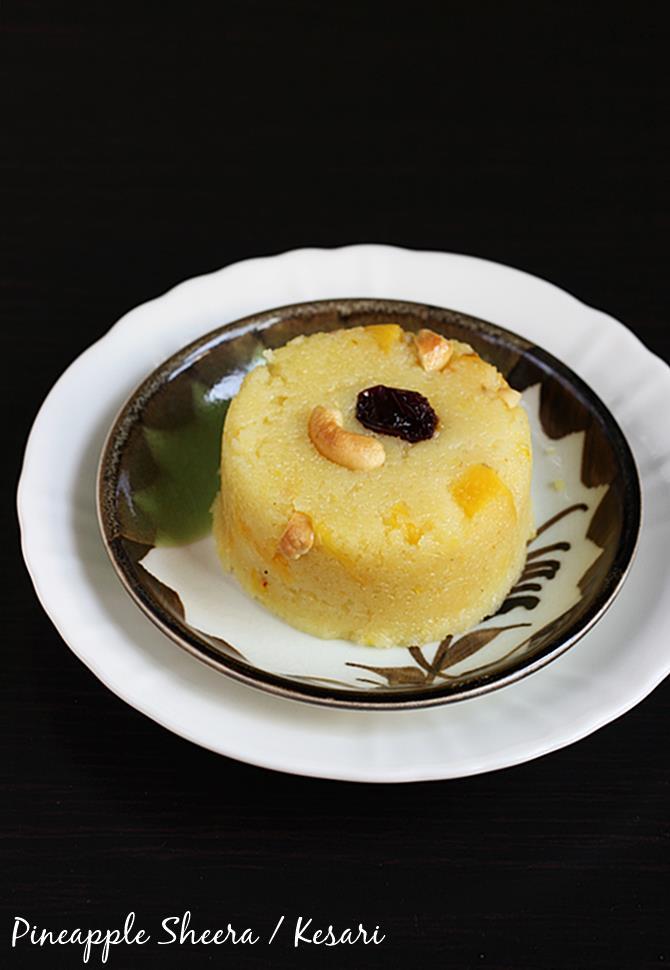pineapple sheera recipe