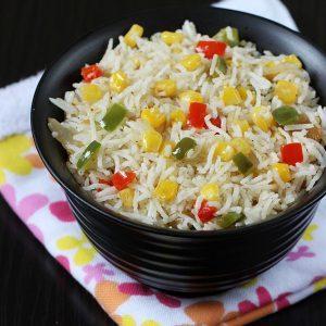 Sweet corn fried rice | Sweet corn rice recipe | Sweet corn recipes