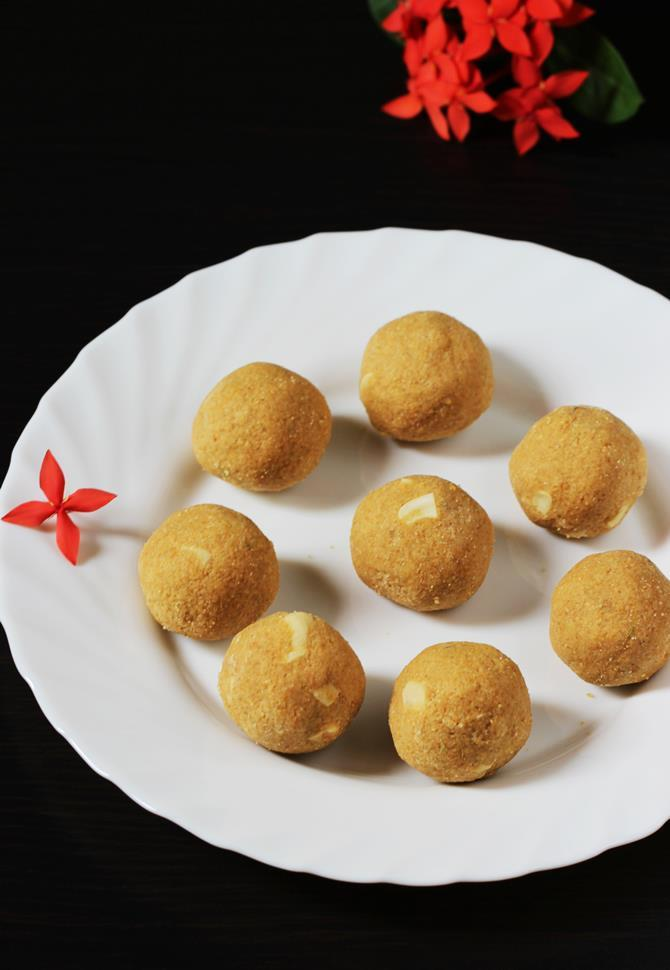 besan ladoo recipe for ganesh chaturthi