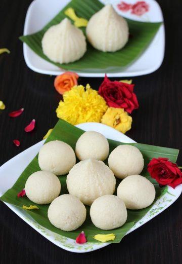 Malai modak recipe | Malai ladoo recipe | Milk laddu recipe