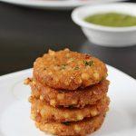 sabudana vada recipe, how to make sabudana vada