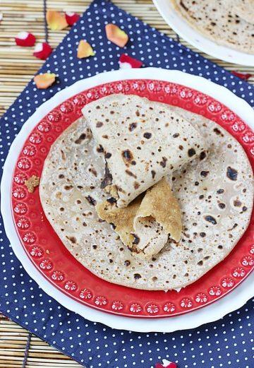 Puran poli recipe | Bobbatlu or Bobattu recipe | Holige recipe