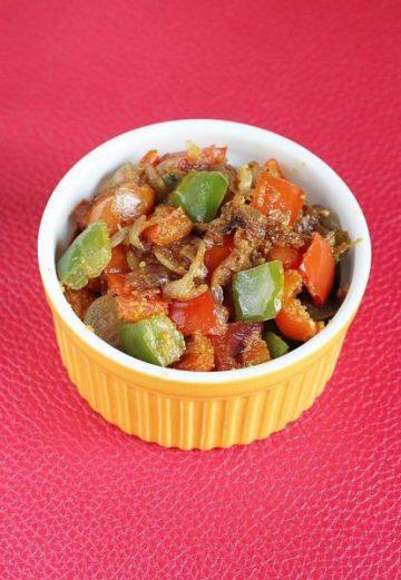 Capsicum fry recipe   dry capsicum curry   how to make capsicum fry recipe