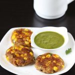 corn cutlet recipe | corn patties | sweet corn recipes
