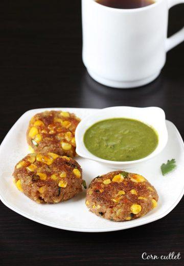 Corn cutlet recipe | Corn patties | How to make corn cutlet