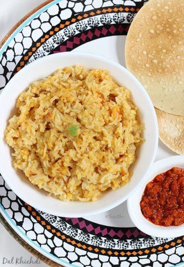 Dal khichdi recipe video | How to make dal khichdi recipe in pressure cooker