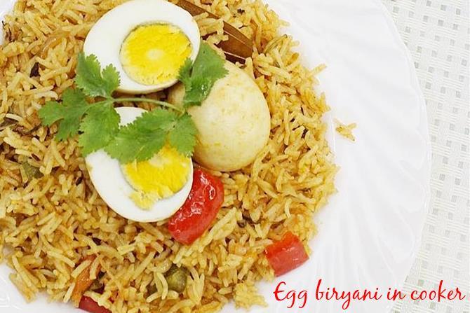 easy egg biryani swasthis recipes