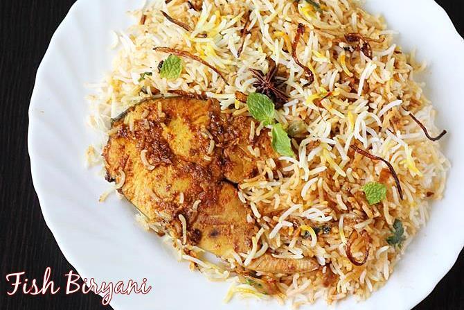 fish biryani swasthis recipes