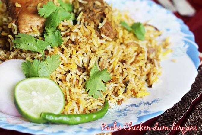 hyderabadi chicken biryani swasthis recipes