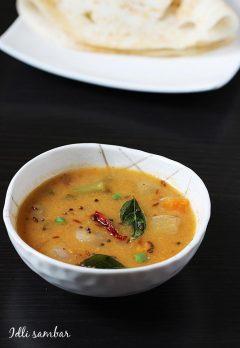 Idli sambar recipe   How to make tiffin sambar recipe