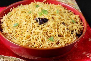 Biryani rice recipe | Kuska rice  or plain biryani without veggies